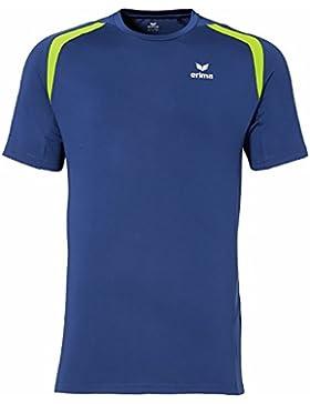 Erima Running T-Shirt - Camiseta de running para hombre, color Azul, talla M