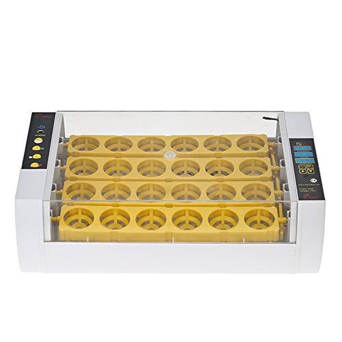 WAZA Incubadora Automatica 24 Huevos Control Automático De Temperatura Digital Y Incubación