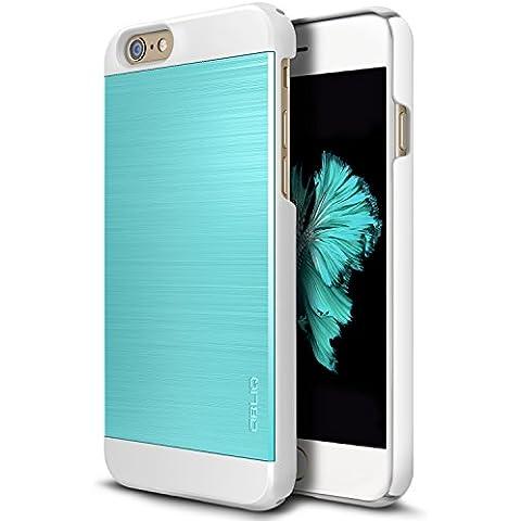 Obliq iPhone 6S/6S Plus Slim sottile e meta Meta II serie, plastica, Meta II Aqua (Monte Hdtv)