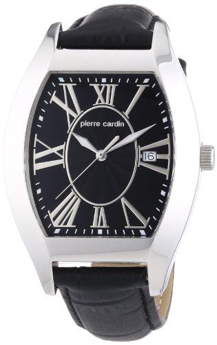 Pierre Cardin - PC104531F02 - Montre Homme - Quartz Analogique - Aiguilles Lumineuses - Bracelet Cuir Noir
