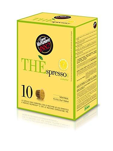 Caffè Vergnano Thespresso Lemon tea Tee Kapseln, 3er Pack (3 x 25 g)