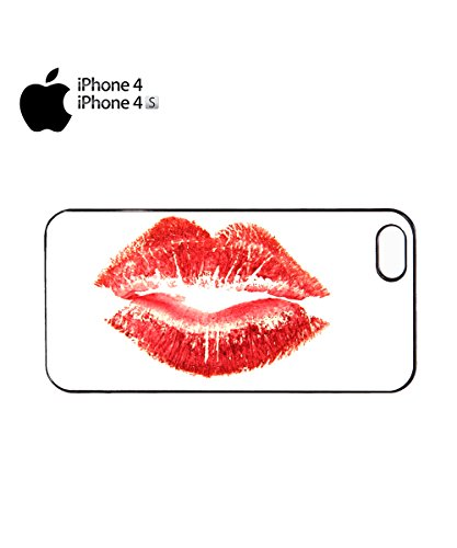 Sexy Kiss Kissing Girl Women Cool Novelty Gift Mobile Phone Case Cover iPhone 6 Plus + Black Noir
