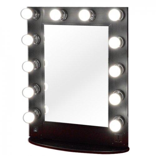 Miroir lumineux réglable, maquillage et coiffure