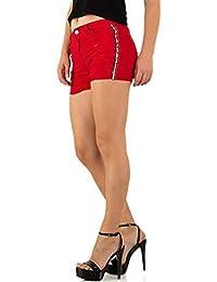 972ce773aedc3a Suchergebnis auf Amazon.de für: rote shorts damen - Ital-Design ...