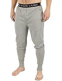 Polo Ralph Lauren Homme Logo Baudrier Pyjama Bottoms, Gris