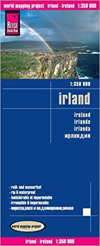 Reise Know-How Landkarte Irland (1:350.000): world mapping project (Irland Von Reise-karte)