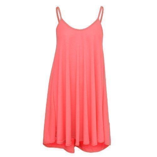 XpoZed Moda -  Vestito  - Donna Rosa fluo