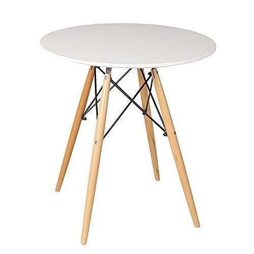Beat Collection - Mesa para comedor, color blanco
