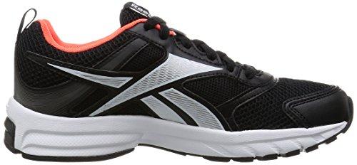Reebok Pheehan Run 4,0 Chaussures de running Femme Negro / Blanco / Plateado / Rojo (Black / White / Silver Met / Shark / Atomic Red)