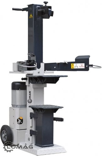 Fendeuse à bois hydraulique verticale Lumag - HOS 12A