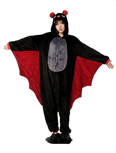 VADOO One Piece Pajamas Jumpsuit Fleece Onesie Halloween Fancy Dress Blow up Party Cosplay Costume