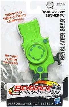 Beyblade Metal Masters - Beyblader Gear Wind And Shoot Launcher #B201A