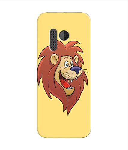 Kaira High Quality Printed Designer Soft Silicon Back Case Cover For Nokia 215 (lion)  available at amazon for Rs.199