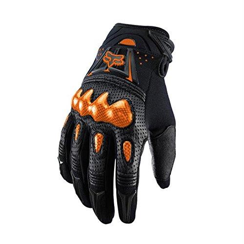 Fox 2015 Motocross Handschuhe - Bomber Schwarz/Orange: Größe Handschuhe: XXL (12)