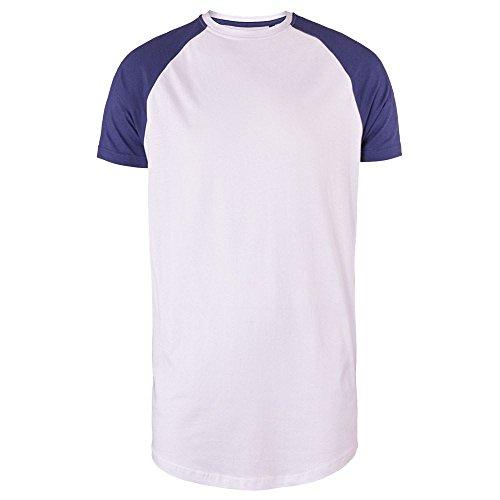 Brave Soul -  T-shirt - Maniche corte  - Uomo Optic White/Ink Blue