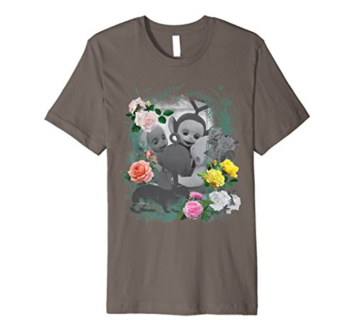 Teletubbies Rose Art Adults T-shirt - 5 colours - S to 3XL