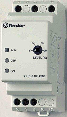 FINDER SERIE 71 - RELE CONTROL 1FASE AC 400VAC CONTACTO ASIMETRICO