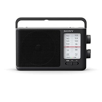 Sony ICF-506 Radio Portable FM/AM autonomie 35H avec Poignée de Transport intégrée Noir par Sony