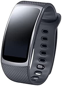 Samsung Gear Fit 2 Smartwatch, Display SuperAMOLED, Nero [Versione Italiana]