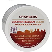 Natural Chambers Leather Balsam Conditioner 200ml (Lavender)