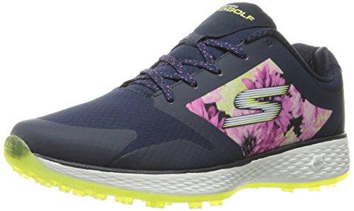 Skechers Chaussures de golf Performance Go Golf Birdie pour femme, Navy/Mint Tropic, 39 EU