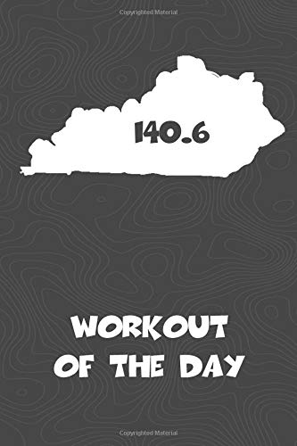 Workout of the Day: Kentucky Workout of the Day Log for tracking and monitoring your training and progress towards your fitness goals. A great ... bikers  will love this way to track goals! por KwG Creates