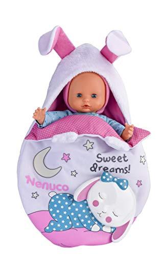 Nenuco de Famosa Saquito Mágico, muñeca bebé con luces y...