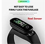 AJO M3 Plus Smart Wristband Fitness Tracker Band Long Standby Time Sports Multifunction