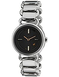 Fastrack Analog Black Dial Women's Watch -NK6117SM01