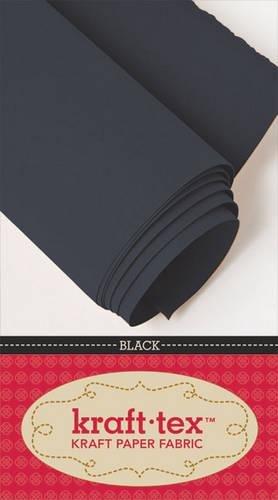 kraft*tex (TM) Bolt 19 x 10 Yards Black: Kraft Paper Fabric