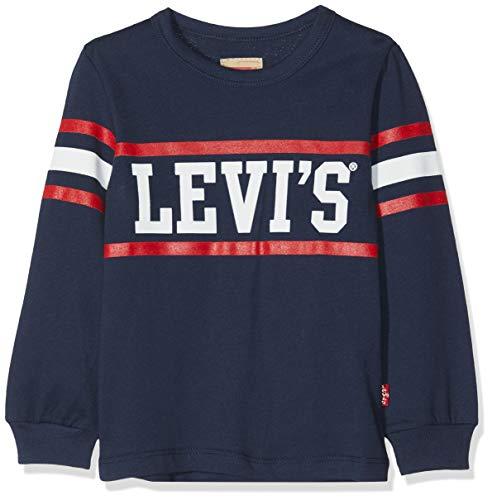 Levi's kids tee-shirt, t bambino, blu (dark blue 48), 16 anni (taglia produttore: 16a)