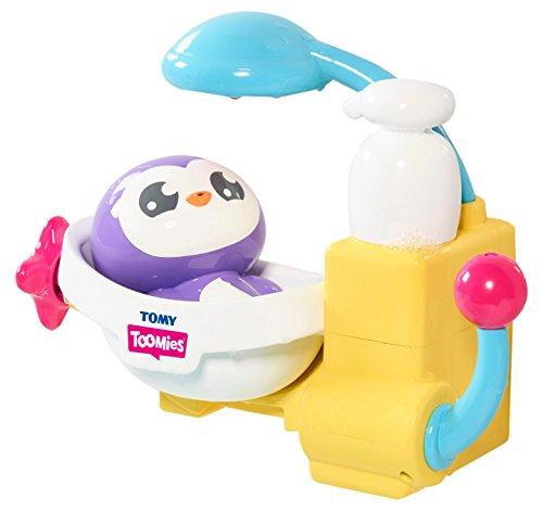 TOMY Toomies Pepes Schaumbad – Lustiges Badewannenspielzeug für mehr Spaß im Wasser – Kinderspielzeug ab 18 Monaten