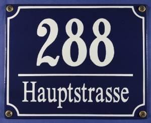 suddeutsches-emaille-hausnummernschild-mit-wunschzahl-text-20x16-cm