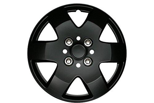 Viz 33 cm Roues Coque T26 4 feuilles Daihatsu Max (Noir mat) Viz-wj5052bp13-032