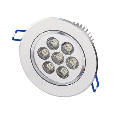 Aubig 7W LED Einbaustrahler Einbaustrahler Spotlight Leuchte Lampe Warm White 110V 220V von AUBIG auf Lampenhans.de
