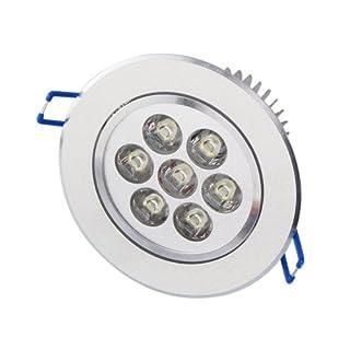 3pcs Aubig 7W LED Ceiling Light Downlight Spotlight Lamps Lights Warm White 110V 220V