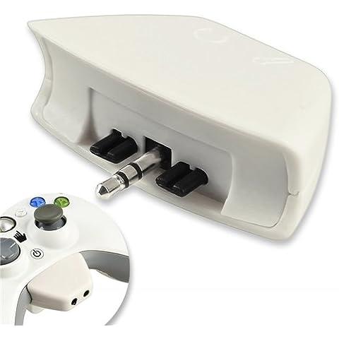 Auricular Headset Adaptador Conversor Micro Para Mando Xbox 360 XBOX360