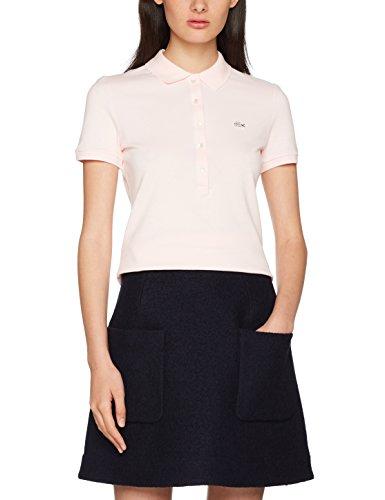 Lacoste Damen Poloshirt Pf7845, Rosa (Flamant), 38 (Herstellergröße: 38)