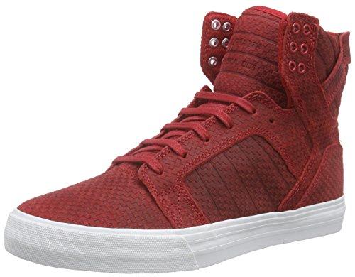 Supra SKYTOP, Sneaker uomo Taglia scarpa, Rosso (Rot (CARDINAL - WHITE CAR)), 44 eu