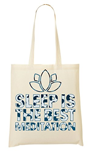 Sleep Is The Best Meditation Lotus Blossom Cool Phrases Collection Sac Fourre-Tout Sac À Provisions