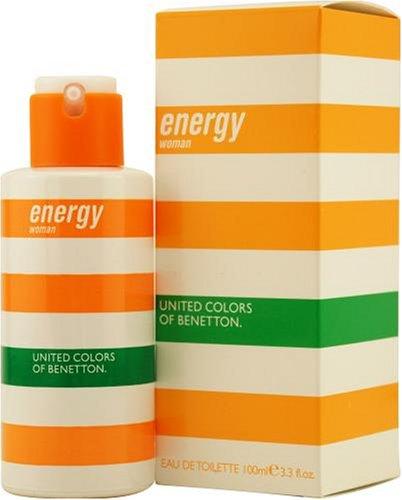 Benetton Energy for Women 100ml EDT Spray -