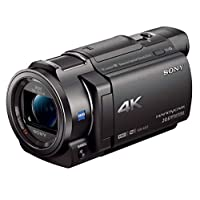 Sony FDR-AX33 Ultra HD 4K Compact Handycam Camcorder | Black