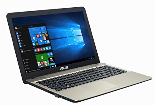 Asus F541SA-XO229T 39,62 cm (15,6 Zoll matt) Laptop (Intel Pentium QC N3710, 8GB RAM, 1TB HDD, DVD, Win 10) Chocolate Black