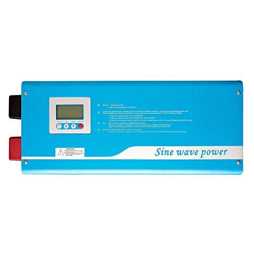 Chargeur d'onduleur en onde sinusoïdale pure numérique intelligente Tumo-Int 3000W DC 24V à AC 220V