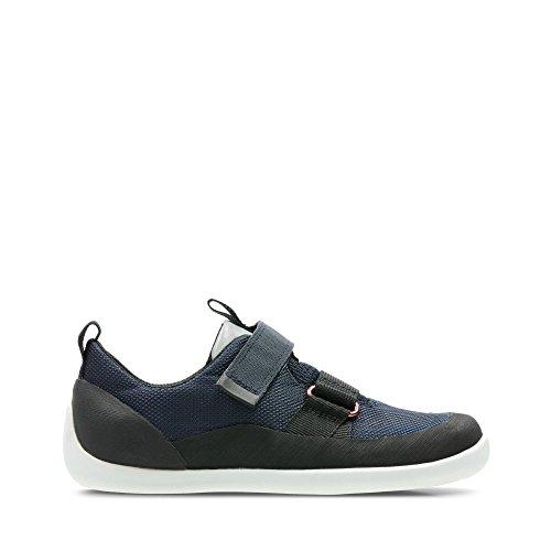 Clarks, Chaussures Basses pour Garçon - Bleu - Bleu, 30 F EU