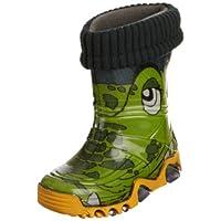 Toughees Shoes Kids Warm Fleece-sock Croc Wellies Wellingtons Boot