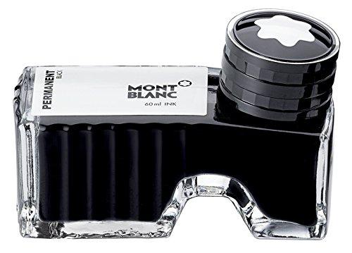Montblanc Tintenfass Permanent Black 107755 / Hochwertige Tinte Schwarz / Schwarze Tinte...