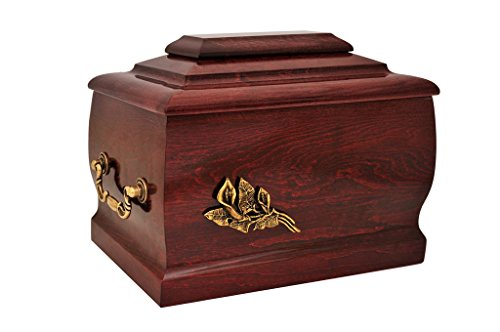 mahogany-solid-wood-casket-funeral-cremation-ashes-urn-with-brass-calla-lily-for-adult-204