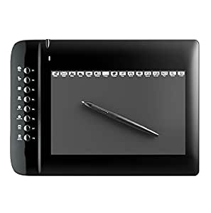 """M1000L Ugee Drawing Graphics Tablet 10x6"""" with 24 Express Keys (4000 LPI 200 RPS 2048 Levels) Windows & Mac - UK Stock"""