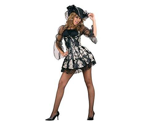 Eine Lady Pirate Kostüm - Zzcostumes Sexy Pirate Lady Kostüm für Damen in Verschiedenen Größen